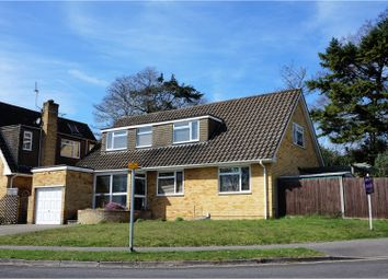 Thumbnail 4 bed detached house for sale in Abbots Close, Fleet