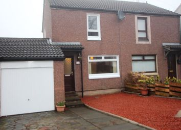 Thumbnail 2 bed semi-detached house for sale in Castle Crescent, East Calder, Livingston