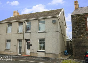 Thumbnail 3 bed semi-detached house for sale in Carway, Kidwelly, Carmarthenshire