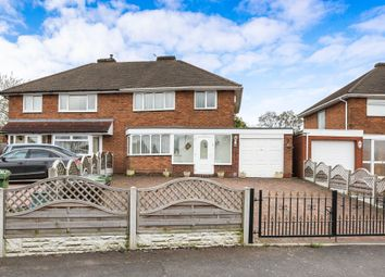 Thumbnail 3 bed semi-detached house for sale in Acacia Avenue, Kingshurst, Birmingham