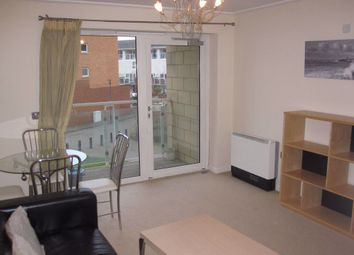 Thumbnail 1 bed flat to rent in Century Wharf, Lynton Court, Cardiff Bay