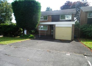 Thumbnail 4 bed detached house to rent in Wellington Road, Edgbaston, Birmingham