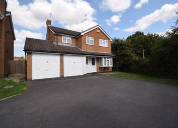 Thumbnail 4 bedroom detached house for sale in Cranesbill Road, Hamilton, Leicester