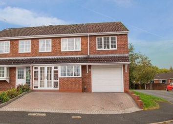 Thumbnail 4 bed semi-detached house for sale in Cheswick Close, Redditch