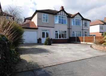 Thumbnail 3 bed semi-detached house for sale in Ley Hey Road, Marple, Stockport