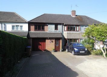 Thumbnail 4 bed semi-detached house for sale in Hollycroft Crescent, Hinckley