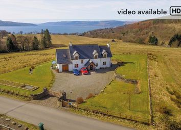 Thumbnail 4 bed detached house for sale in Kilcreggan, Helensburgh
