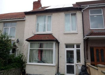 Thumbnail 4 bedroom terraced house to rent in Park Road, Northville, Bristol