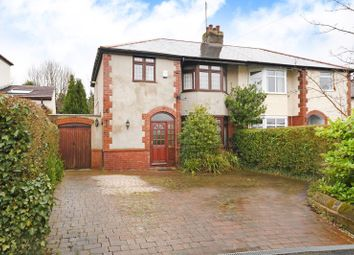 Thumbnail 3 bed semi-detached house for sale in Vernon Road, Dore, Sheffield