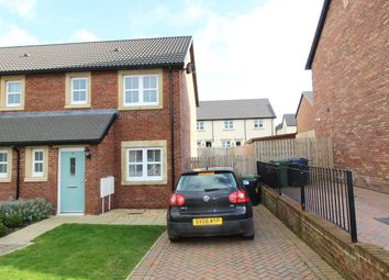 Thumbnail 2 bed semi-detached house for sale in Bouch Way, Thursby, Carlisle