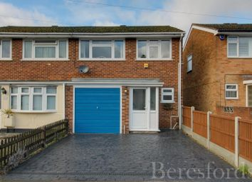 3 bed semi-detached house for sale in Church Road, Harold Wood, Romford, Essex RM3