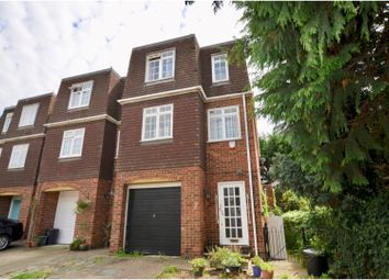 Thumbnail 5 bed town house for sale in Thatcher Close, West Drayton