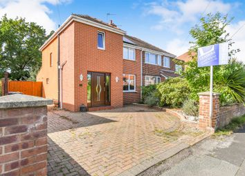 Thumbnail 3 bed semi-detached house for sale in Barnes Avenue, Fearnhead, Warrington
