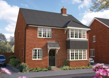 "Thumbnail 4 bed detached house for sale in ""The Canterbury"" at Dudley Road, Honeybourne, Evesham"