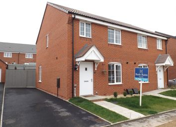 Thumbnail 3 bed semi-detached house for sale in Crump Way, Evesham