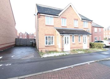 Thumbnail 3 bedroom semi-detached house for sale in Eagleworks Drive, Walsall