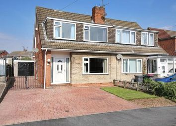 Thumbnail 3 bedroom semi-detached house for sale in Northfield Drive, Woodsetts, Worksop