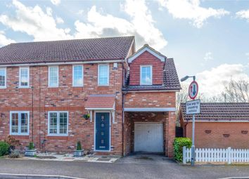 Thumbnail 4 bed semi-detached house for sale in Hebbecastle Down, Warfield, Bracknell, Berkshire