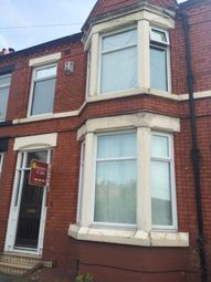 Thumbnail 4 bed terraced house to rent in Colebrooke Road, Aigburth, Liverpool