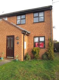 Thumbnail 2 bed semi-detached house to rent in Isle Bridge Road, Outwell, Wisbech