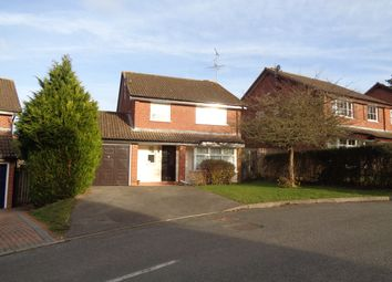 Thumbnail 4 bed detached house to rent in Chalky Copse, Hook