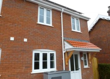 Thumbnail 3 bed semi-detached house to rent in The Street, Ashwellthorpe, Norwich