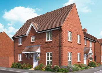 "Thumbnail 3 bed semi-detached house for sale in ""The Redwood"" at Boorley Green, Winchester Road, Botley, Southampton, Botley"