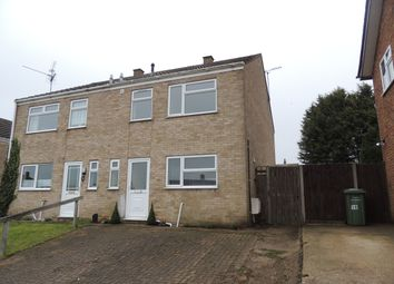 Thumbnail 3 bed semi-detached house to rent in Glebe Road, Downham Market