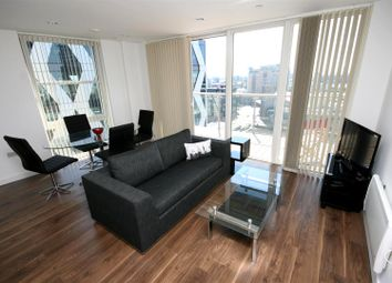 Thumbnail 2 bed flat to rent in Numberone, Mediacityuk, Salford Quays