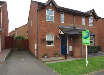 Thumbnail 2 bed semi-detached house for sale in Bracklesham Way, Amington, Tamworth