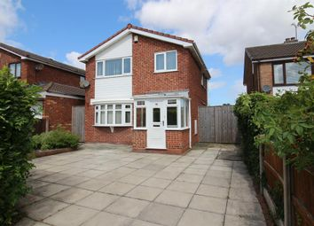 Thumbnail 3 bed detached house for sale in Kylemore Drive, Pensby, Wirral
