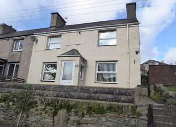 Thumbnail 3 bed semi-detached house for sale in Pantglas Road, Bethesda, Bangor
