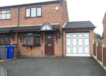 Thumbnail 2 bedroom semi-detached house to rent in Sandwick Crescent, Birches Head, Stoke-On-Trent