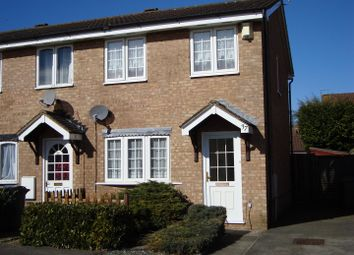 Thumbnail 2 bed end terrace house for sale in Milton Way, Houghton Regis, Dunstable