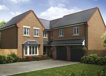 "Thumbnail 5 bed detached house for sale in ""Plot 110 & 117 - The Elm"" at Wigan Road, Clayton-Le-Woods, Chorley"