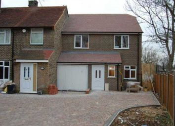 Thumbnail 3 bedroom end terrace house to rent in Arundel Drive, Borehamwood