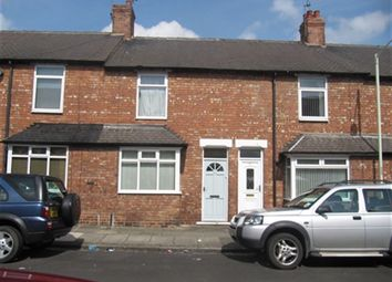 Thumbnail 2 bed terraced house to rent in Grasmere Road, Darlington