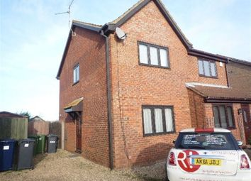 Thumbnail 2 bed property to rent in Meadow Close, Stilton, Peterborough