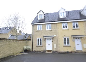 Thumbnail 3 bedroom town house for sale in Brook Lane, Witney, Oxfordshire