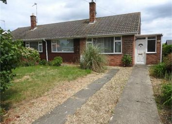Thumbnail 2 bed semi-detached bungalow to rent in Kingsway, Bourne, Lincolnshire
