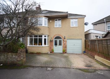 Thumbnail 5 bed semi-detached house for sale in Queensholm Crescent, Downend