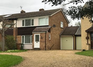 Thumbnail 3 bedroom link-detached house to rent in Church Hill, Castor, Peterborough