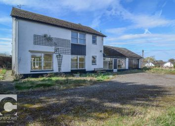 Thumbnail 4 bed detached house for sale in Back Lane, Nomans Heath, Malpas