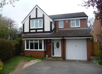 Thumbnail 4 bed detached house to rent in Waverley Way, Finchampstead, Wokingham