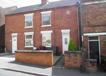 Thumbnail 2 bed town house to rent in Haddon Street, Tibshelf, Alfreton