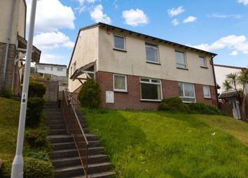 Thumbnail 3 bed semi-detached house for sale in Reddicliff Close, Plymouth, Devon