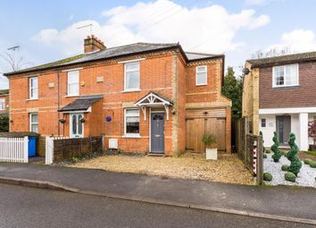Thumbnail 2 bed semi-detached house for sale in Church Road, Chavey Down, Ascot