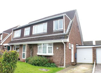 Thumbnail 3 bed semi-detached house for sale in Salmon Drive, Bishopstoke, Eastleigh
