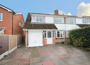 Thumbnail 3 bed semi-detached house for sale in Reindeer Road, Fazeley, Tamworth