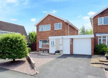 Thumbnail 3 bedroom detached house for sale in Boningale Close, Stirchley, Telford, Shropshire.